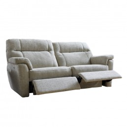 Ashton 3 Seater Manual Recliner Sofa