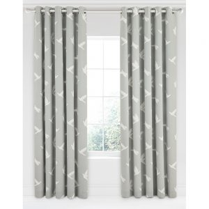 Sanderson Home Paper Doves Curtains 66″x90″ Mineral