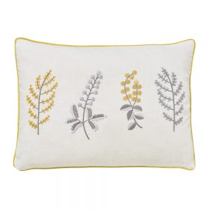Sanderson Home Paper Doves Cushion Mineral 40x30cm Mineral