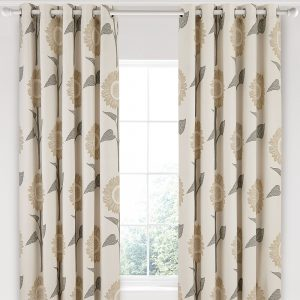 Sanderson Home Sundial Curtains 66″x90″ Linen