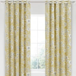 Sanderson Home Maelee Curtains 66″x90″ Sunshine