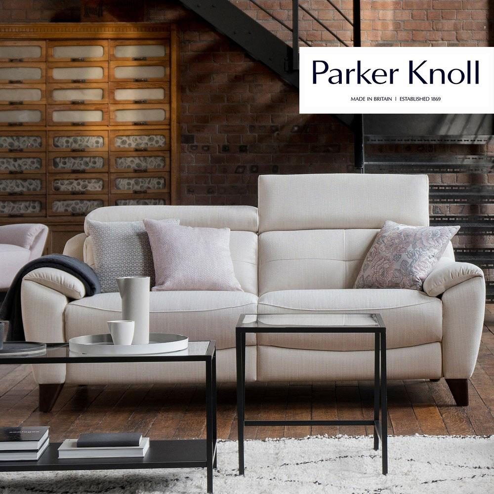 Parker Knoll Evolution 1702 2 Seater Sofa (Como Leather)