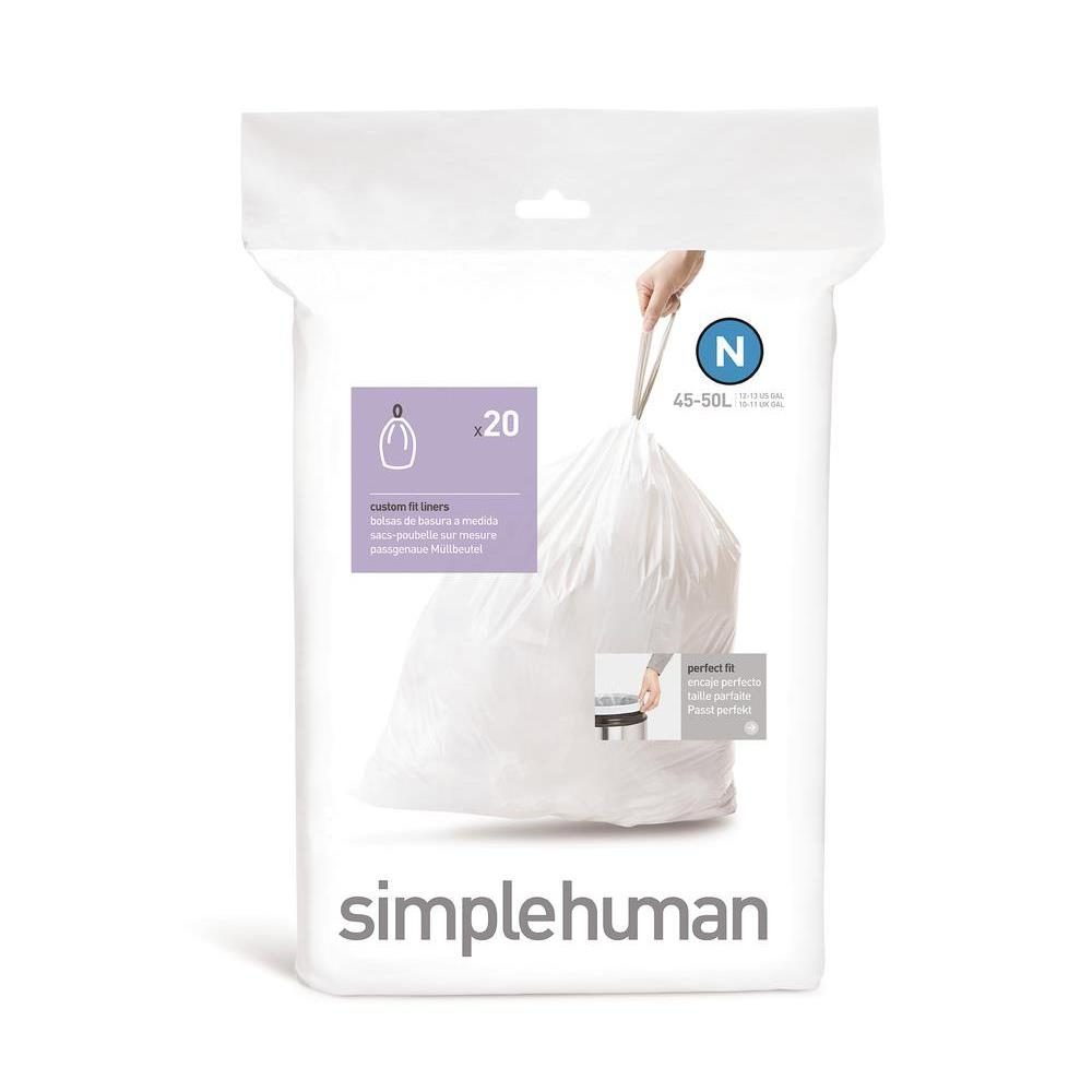 Simple Human 45L Type N Bin Liner