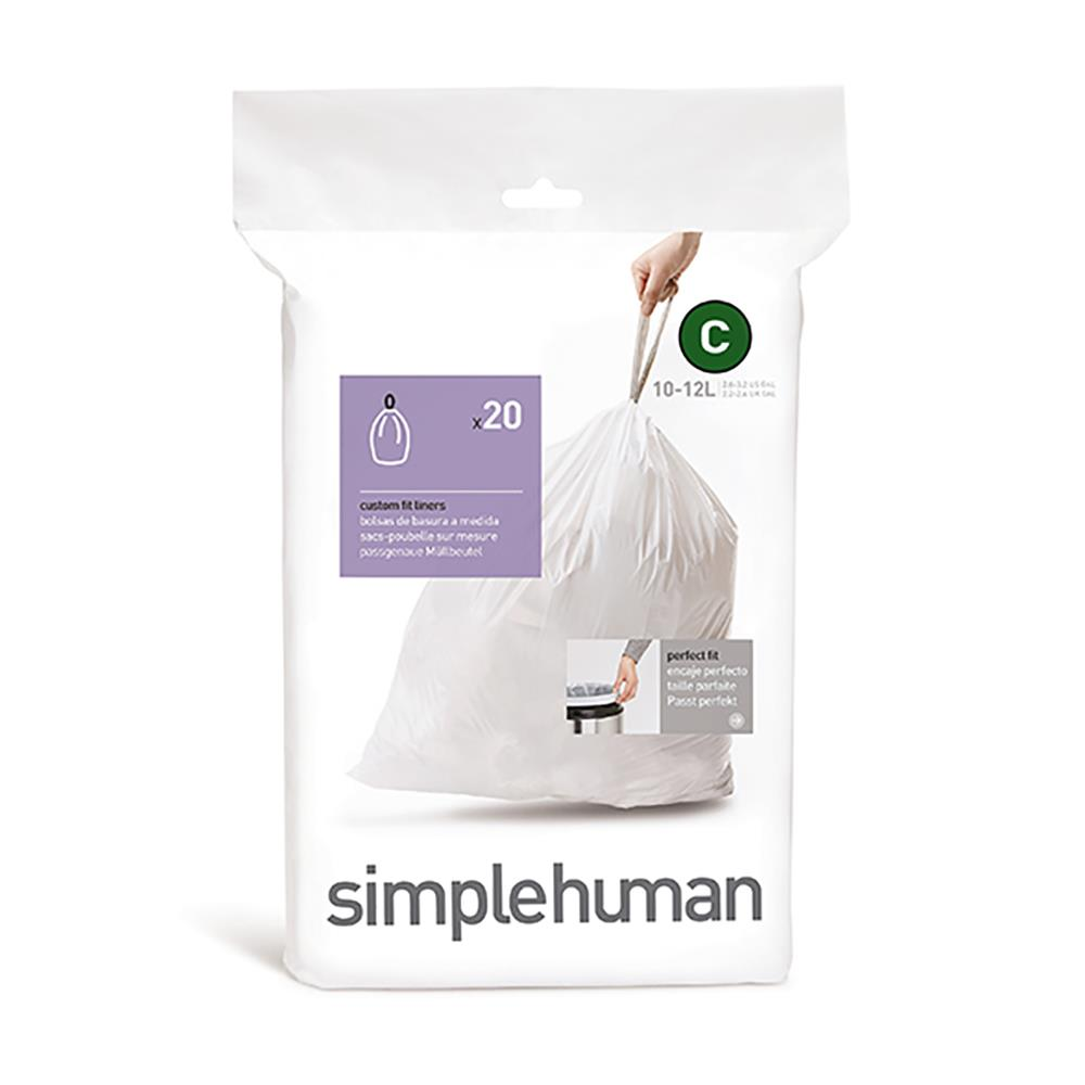 Simple Human 10-12L Type C Bin Liner
