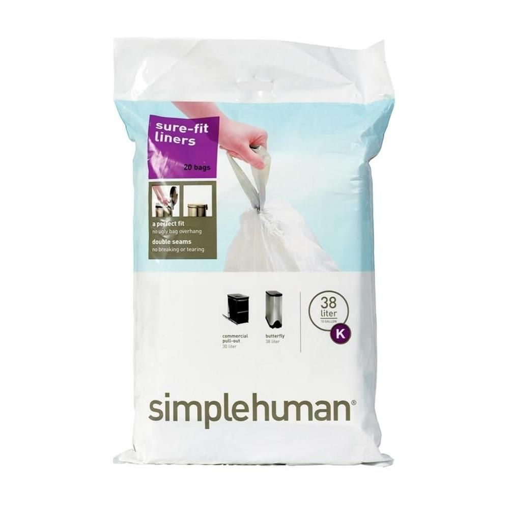 Simple Human 38L Type K Bin Liner