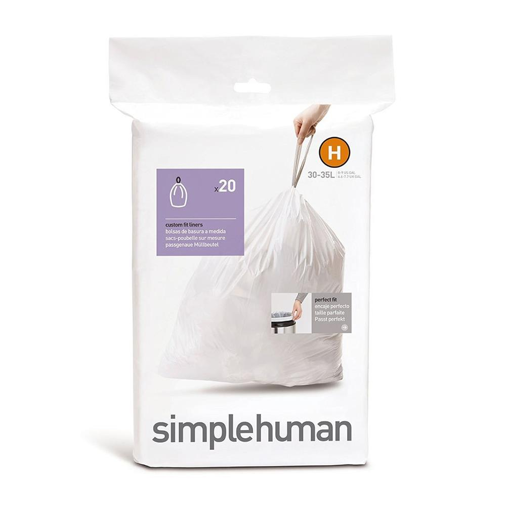 Simple Human 30L Type H Bin Liner