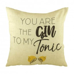 You Are The Gin To My Tonic Cushion