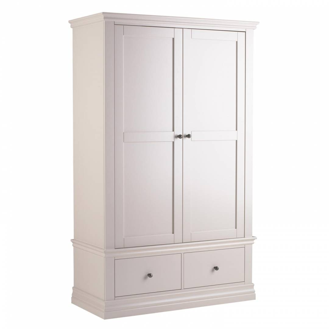 Anais Double Wardrobe with Drawers