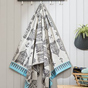 Mudeford Beach Towel