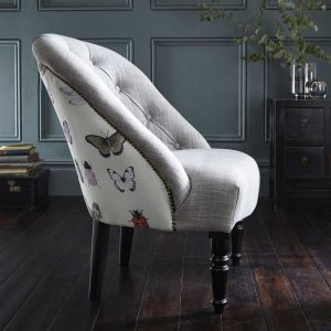 Clarke & Clarke Soho Chair Papilio Heather