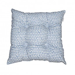 Spotty Seat Pad China Blue