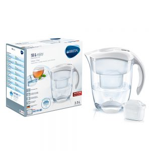 Brita – Elemaris Meter 3.5L XL Water Filter Jug – White