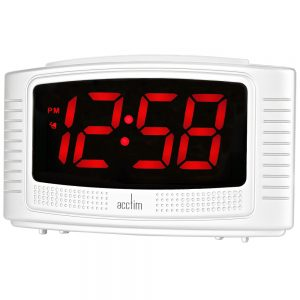 Vian 1.2″ Red LED Alarm Clock