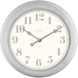 Chester 355mm Wall Clock in Mist