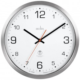 Atomik 30cm Radio Control Sweep Wall Clock