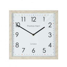 12″ Smithfield Wall Clock In Oak