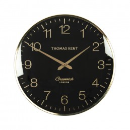 16″ Greenwich Wall Clock in Evening Gold