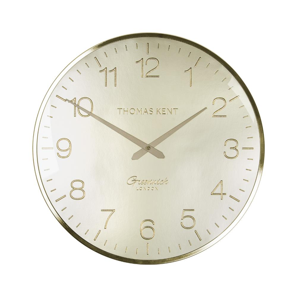 16″ Greenwich Wall Clock in Morning Gold