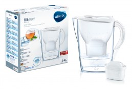Brita – Marella Water 2.4L Filter Jug – Cool White