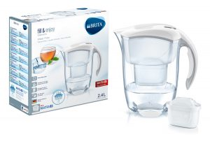 Brita – Elemaris Water 2.4L Filter Jug – Cool White