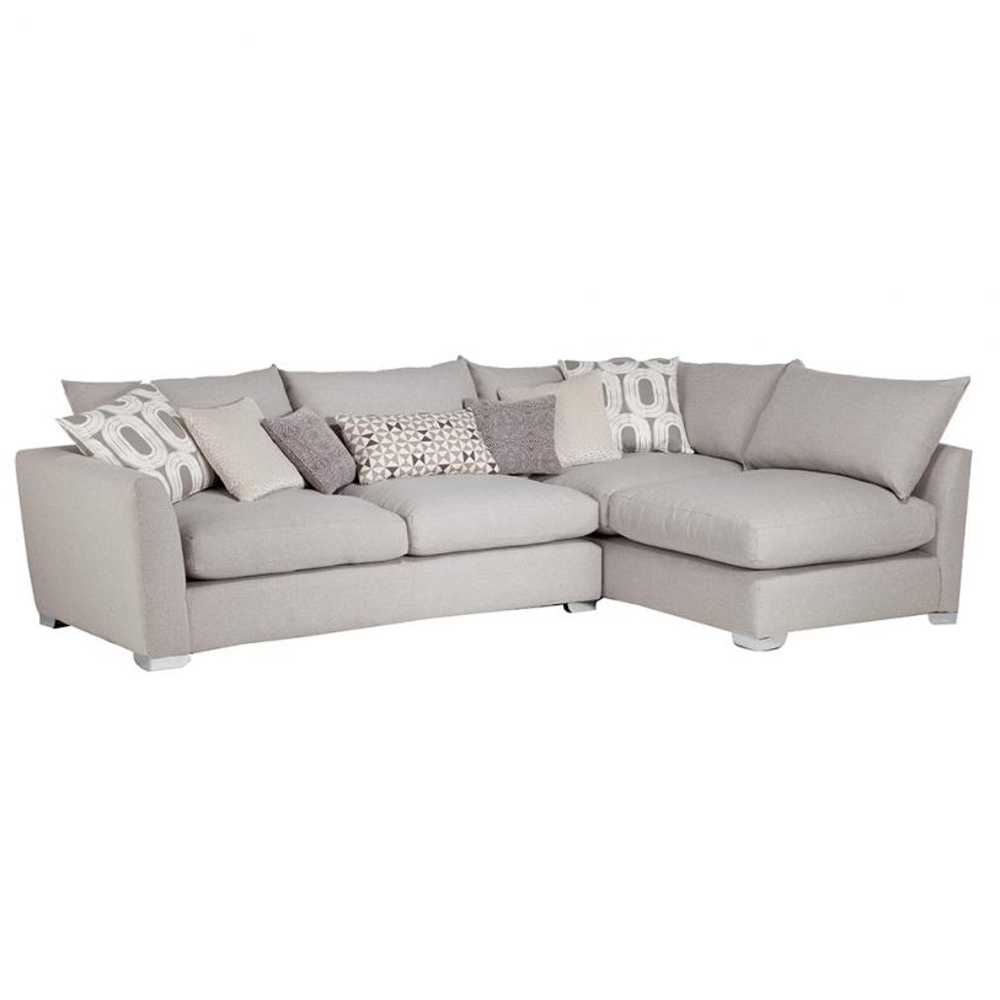 Combi Unit with Feather Fibre Seat (LHF Arm) in fabric grade (B)