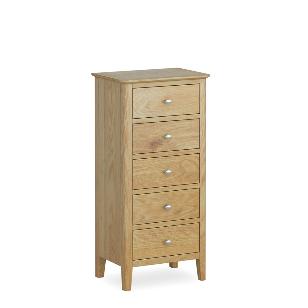 Avon 5 Drawer Tallboy