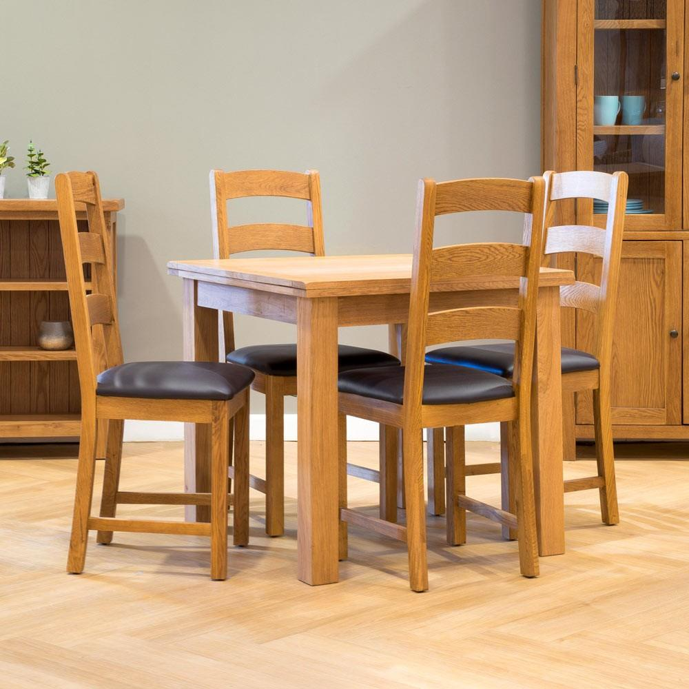 Vienna Flip Top Table & 4 Chairs