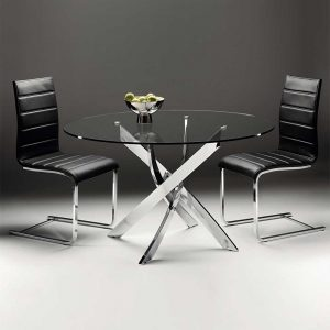 Cluster 110cm Table & 4 Flex Chairs