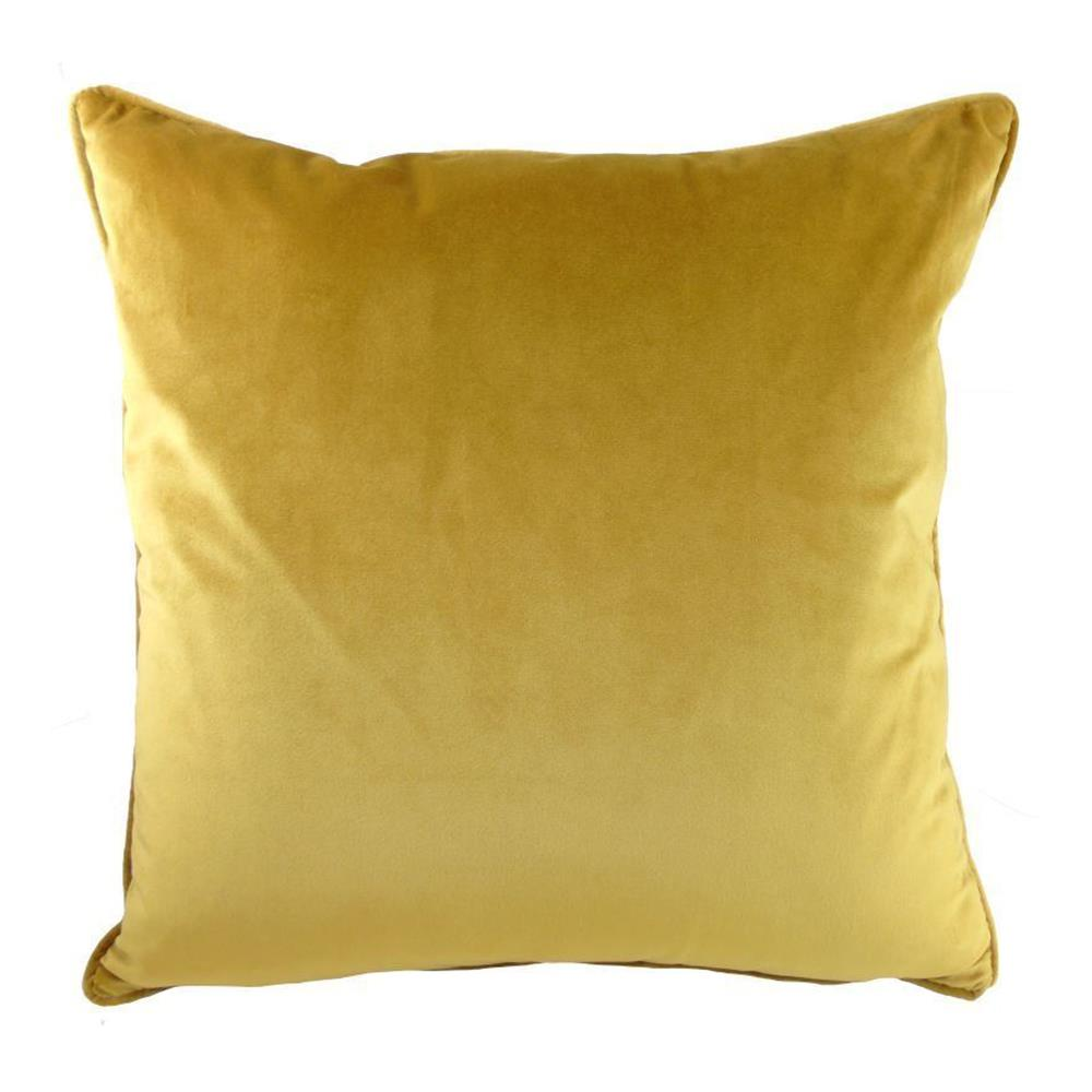Royal Velvet Cushion Gold 43cm