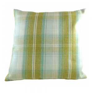 Stirling Check Cushion Sage