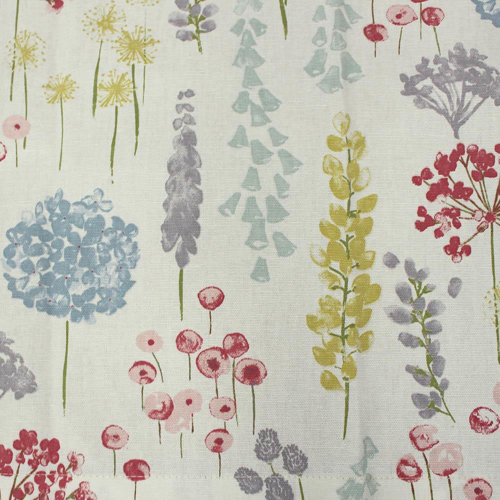 Marson Imports Dandelion Red Fabric