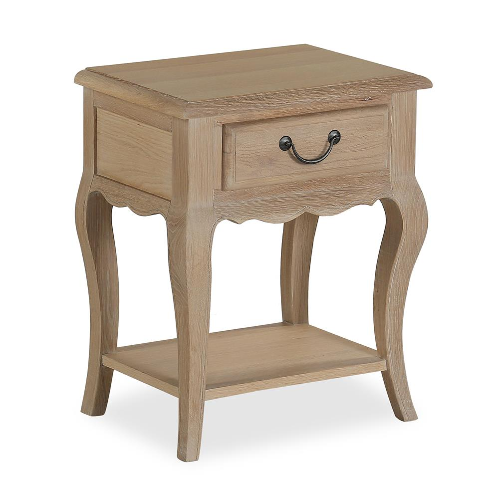 Cambridge Nightstand White Oil