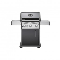 Napoleon Rogue 425 BBQ With Side Burner Black