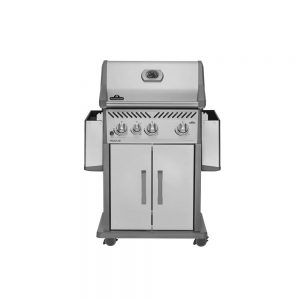 Napoleon Rogue 425 BBQ With Side Burner Stainless Steel