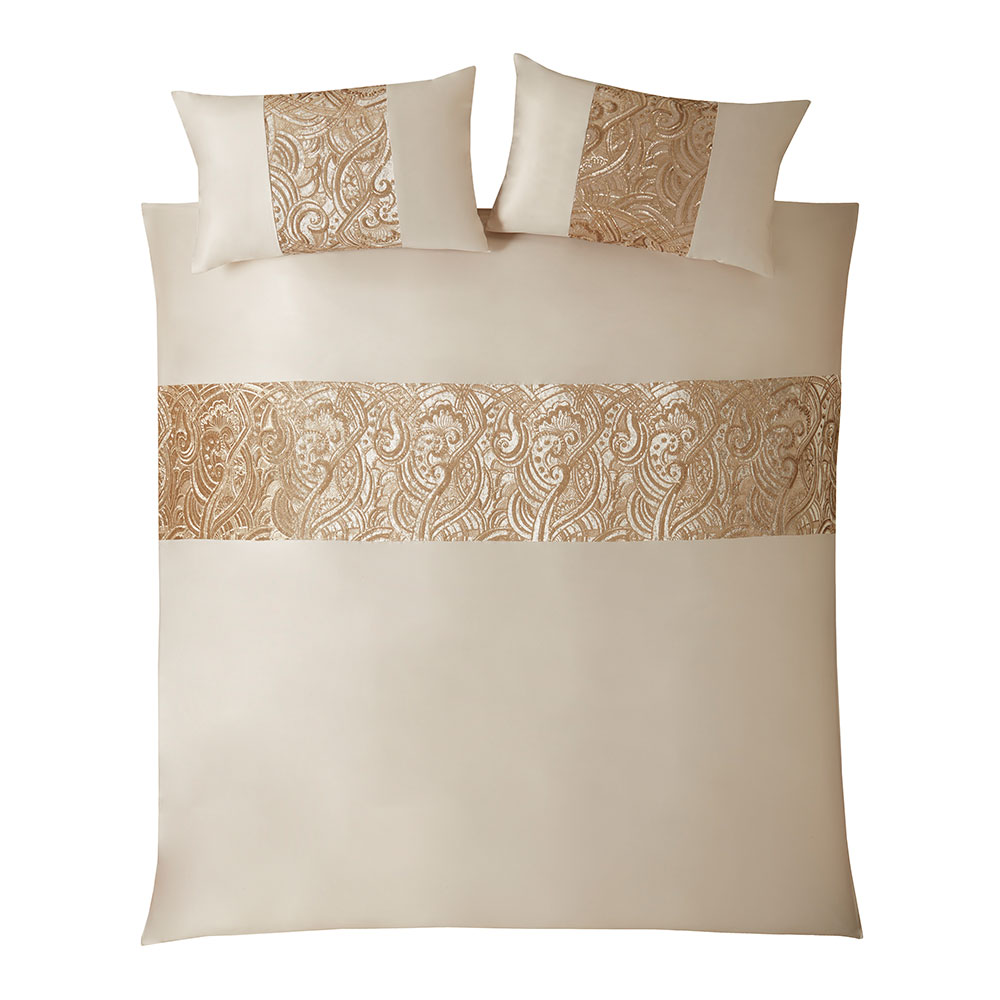 Kylie Minogue Marnie Gold Duvet Cover