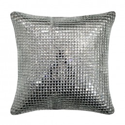 Kylie Minogue Square Crystal Cushion Silver