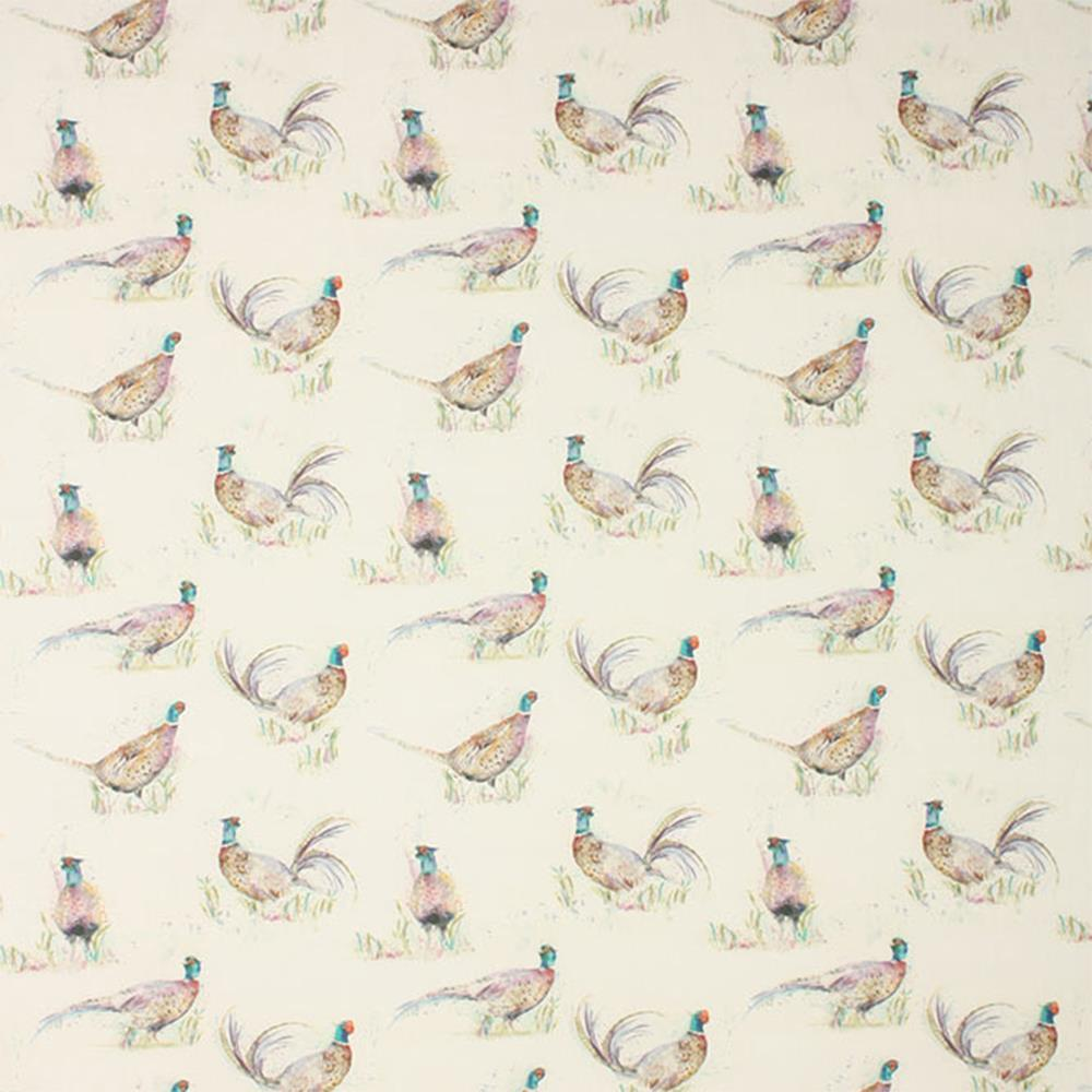 Voyage Dashing Pheasant Fabric