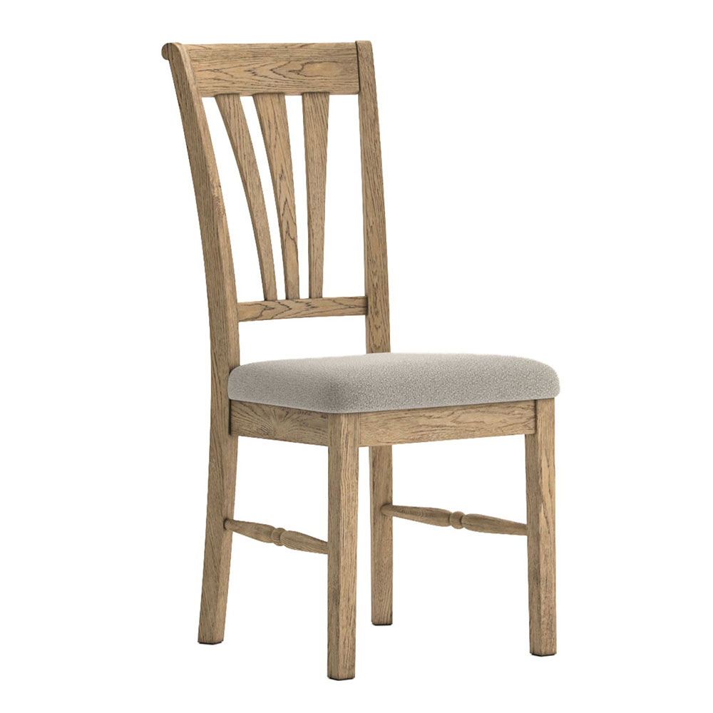 Valencia Upholstered Dining Chair Almond Seat