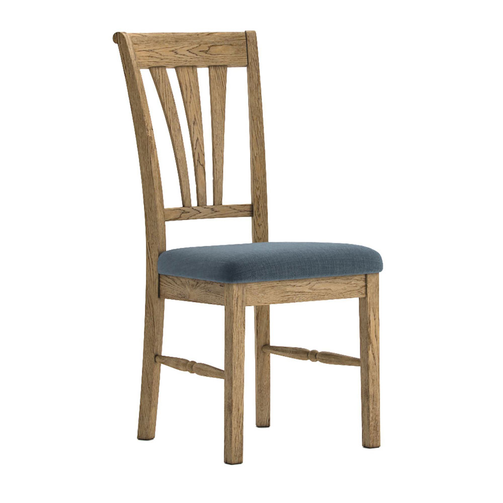 Valencia Upholstered Dining Chair Slate Seat