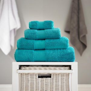 Bliss Pima Cotton Towel Teal