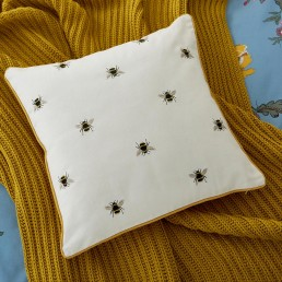Joules Chinoise Floral Cushion 40x40cm