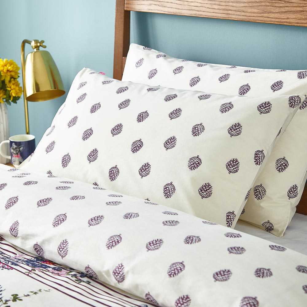Joules Harvest Garden Housewife Pillowcase