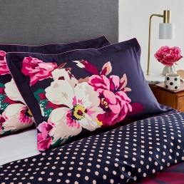 Joules Winter Bloom Oxford Pillowcase