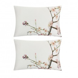 Ted Baker Flight Of The Orient H/Wife Pillowcase Pair