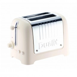 Dualit 2 Slot Toaster Canvas White