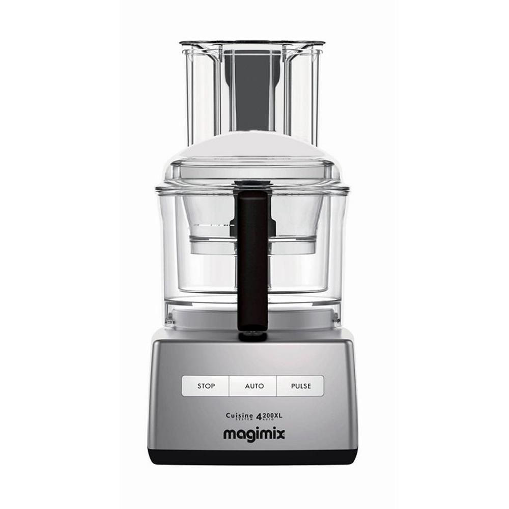 Magimix 4200XL Food Processor Satin- FREE GIFT WORTH £100!