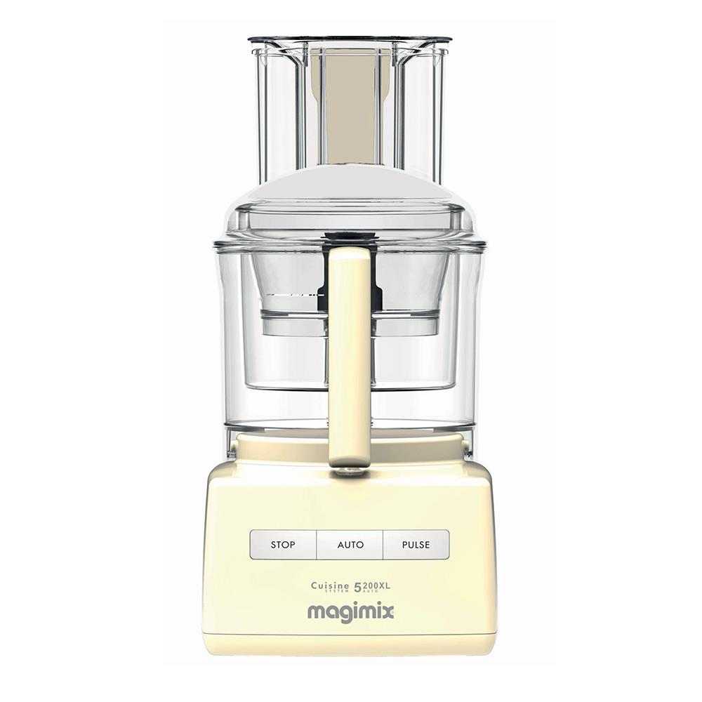 Magimix 5200XL Food Processor Cream- FREE GIFT WORTH £100!