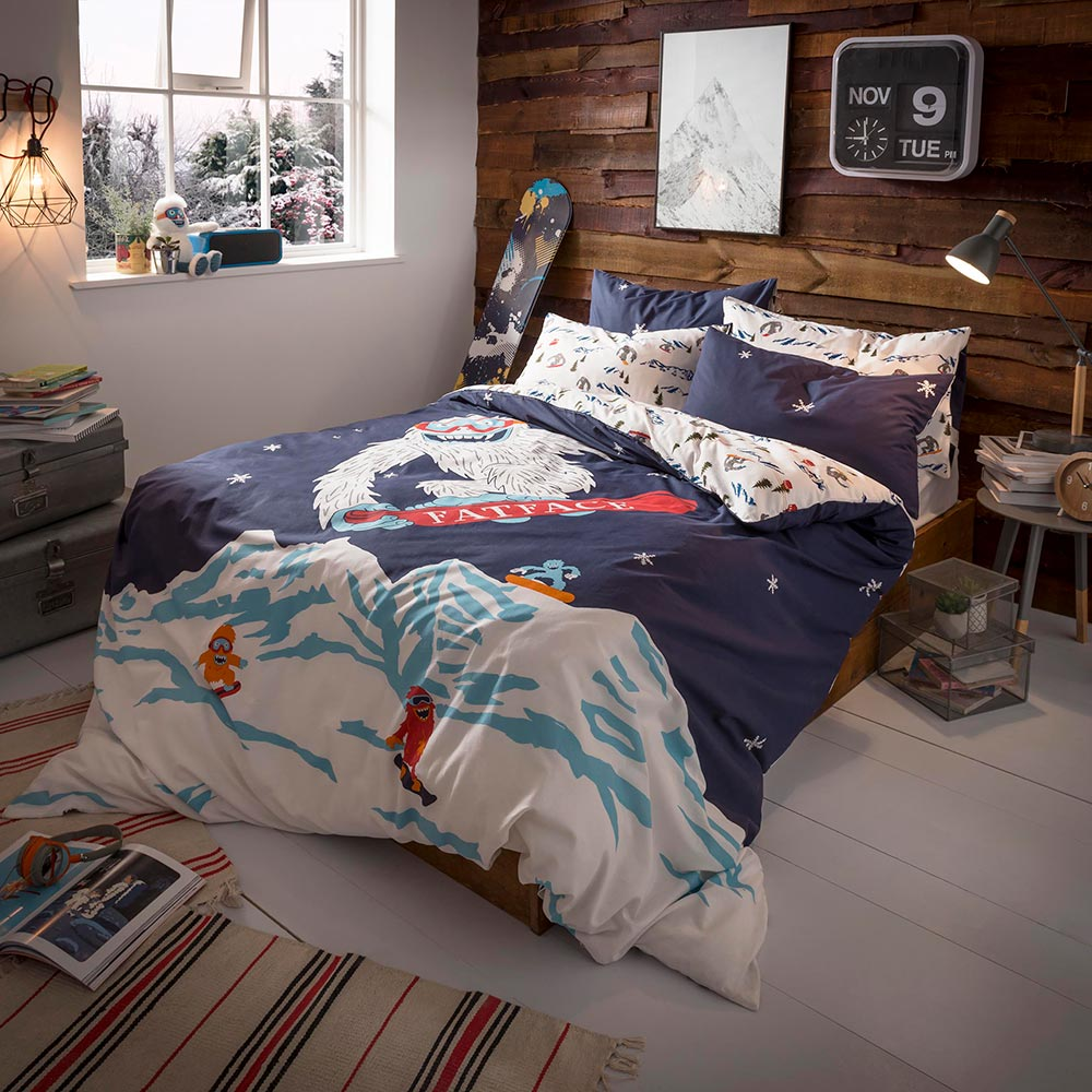 Fat Face Yeti Duvet Cover Set