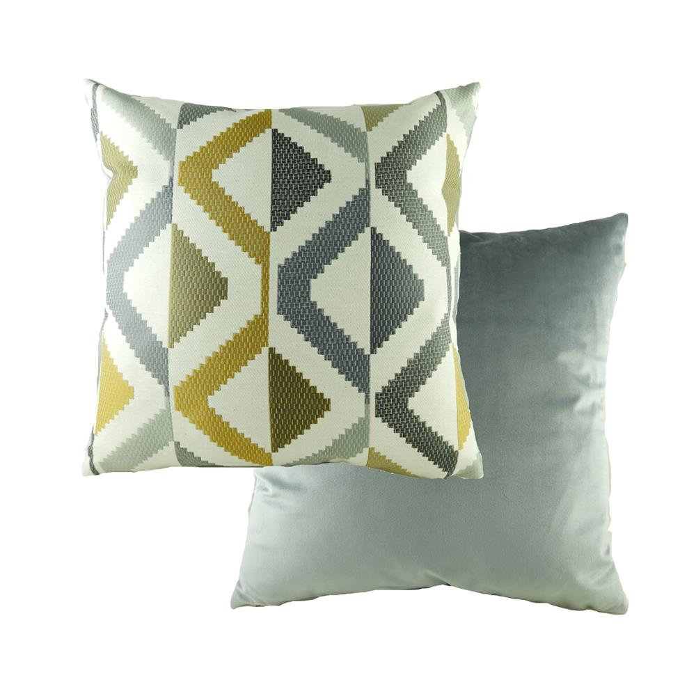Pingxi Abstract Ochre Cushion 43cm