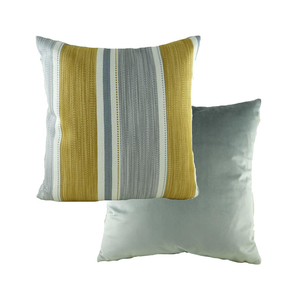 Pingxi Stripe Ochre Cushion 43cm